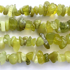 32 Inch Korean Jade 6-9mm Chip Beads